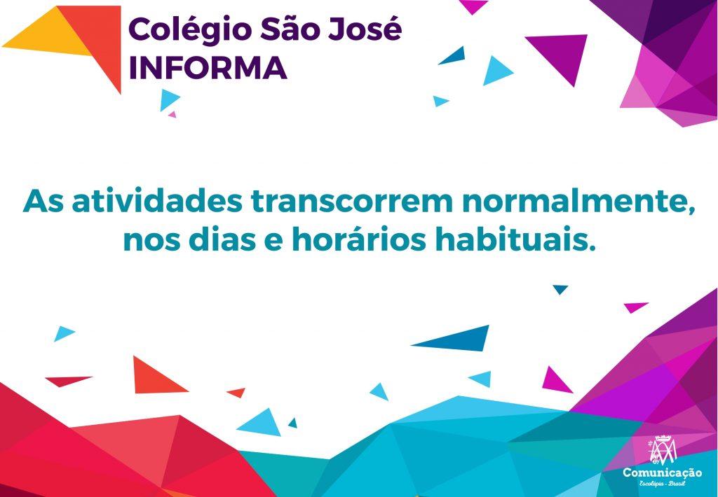 Colégio São José Informa