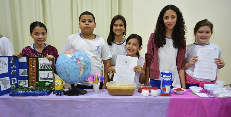 Mostra sobre as Regiões Brasileiras